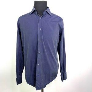 BANANA REPUBLIC Button Down Striped Long Sleeve